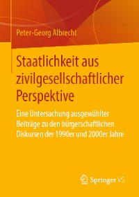 Cover Staatlichkeit aus zivilgesellschaftlicher Perspektive