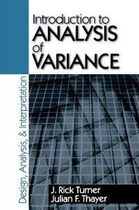 Cover Introduction to Analysis of Variance