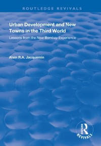 Cover Urban Development and New Towns in the Third World