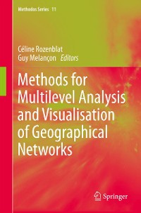 Cover Methods for Multilevel Analysis and Visualisation of Geographical Networks