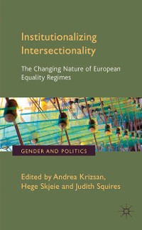 Cover Institutionalizing Intersectionality
