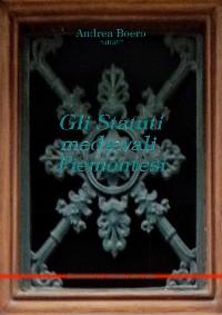 Cover Gli statuti medievali piemontesi