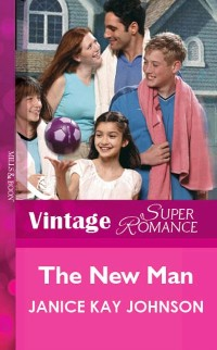 Cover New Man (Mills & Boon Vintage Superromance)