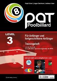 Cover PAT Pool Billard Trainingsheft Level 3