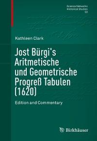 Cover Jost Bürgi's Aritmetische und Geometrische Progreß Tabulen (1620)