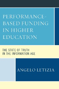 Cover Performance-Based Funding in Higher Education