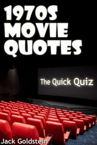 Cover 1970s Movie Quotes - The Quick Quiz