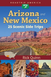 Cover RoadTrip America Arizona & New Mexico:  25 Scenic Side Trips