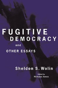 Cover Fugitive Democracy