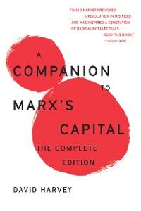 Cover A Companion To Marx's Capital