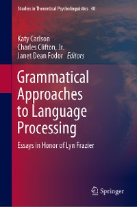 Cover Grammatical Approaches to Language Processing