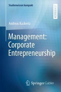 Cover Management: Corporate Entrepreneurship