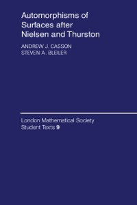 Cover Automorphisms of Surfaces after Nielsen and Thurston
