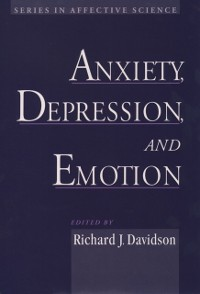 Cover Anxiety, Depression, and Emotion