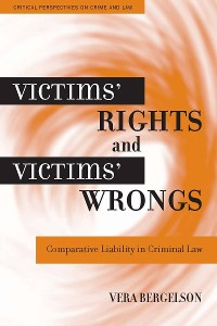 Cover Victims' Rights and Victims' Wrongs
