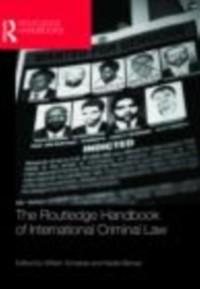 Cover Routledge Handbook of International Criminal Law