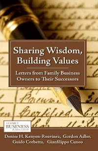 Cover Sharing Wisdom, Building Values
