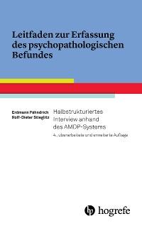 Cover Leitfaden zur Erfassung des psychopathologischen Befundes