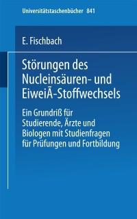 Cover Storungen des Nucleinsauren- und Eiwei-Stoffwechsels