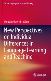 Cover New Perspectives on Individual Differences in Language Learning and Teaching