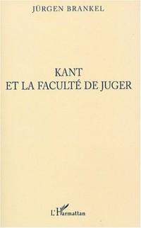 Cover Kant et la faculte de juger