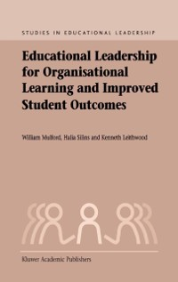 Cover Educational Leadership for Organisational Learning and Improved Student Outcomes