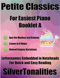 Cover Petite Classics for Easiest Piano Booklet L2