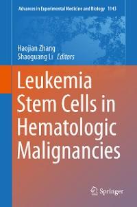 Cover Leukemia Stem Cells in Hematologic Malignancies