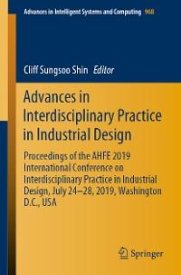 Cover Advances in Interdisciplinary Practice in Industrial Design