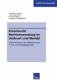 Cover Kommunale Rechtsanwendung im Umbruch und Wandel