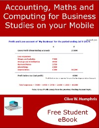 Cover Accounting, Maths and Computing Principles for Business Studies on Your Mobile