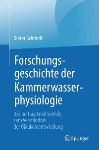 Cover Forschungsgeschichte der Kammerwasserphysiologie