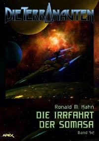 Cover DIE TERRANAUTEN, Band 52: DIE IRRFAHRT DER SOMASA