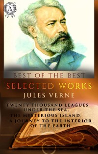 Cover Selected works Jules Verne