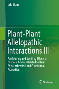 Cover Plant-Plant Allelopathic Interactions III