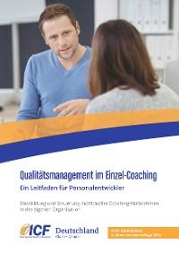 Cover Qualitätsmanagement im Einzel-Coaching