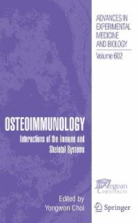 Cover Osteoimmunology