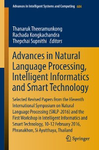 Cover Advances in Natural Language Processing, Intelligent Informatics and Smart Technology