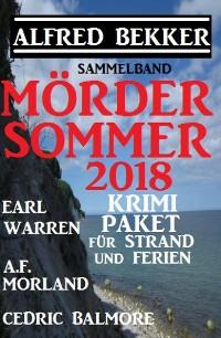 Cover Mördersommer 2018 - Krimi-Paket für Strand und Ferien