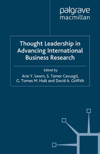 Cover Thought Leadership in Advancing International Business Research