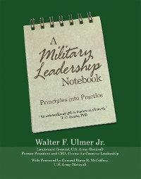 Cover A Military Leadership Notebook