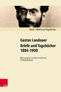 Cover Briefe und Tagebücher 1884–1900