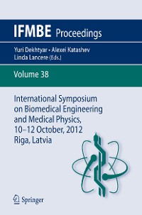 Cover International Symposium on Biomedical Engineering and Medical Physics, 10-12 October, 2012, Riga, Latvia