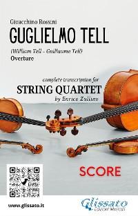 Cover Guglielmo Tell (overture) String quartet score