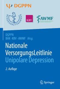 Cover S3-Leitlinie/Nationale VersorgungsLeitlinie Unipolare Depression