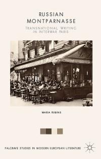 Cover Russian Montparnasse