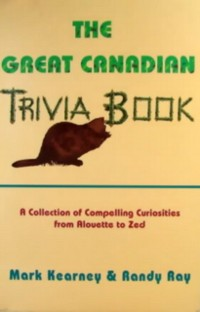Cover Great Canadian Trivia Book