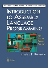 Cover Introduction to Assembly Language Programming