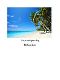 Cover Vacation Spending