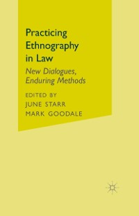 Cover Practicing Ethnography in Law